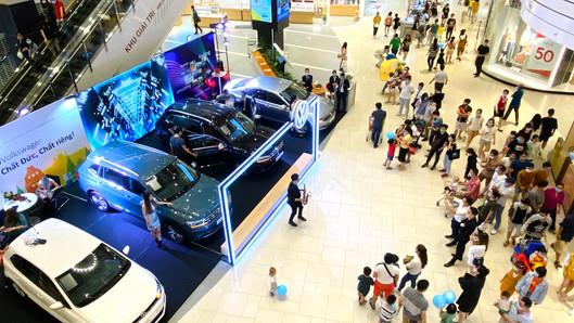 Triển lãm Volkswagen tại TTTM Aeon Bình Tân