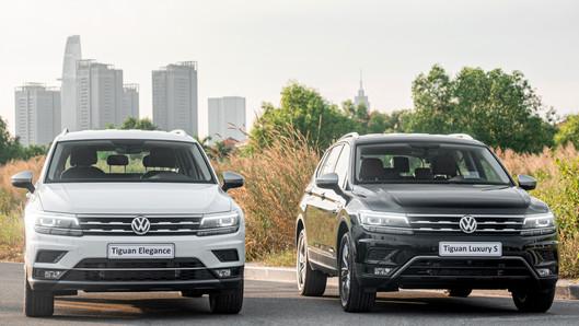 Ra mắt hai phiên bản Tiguan nâng cấp 2021: Tiguan Luxury S và Tiguan Elegance