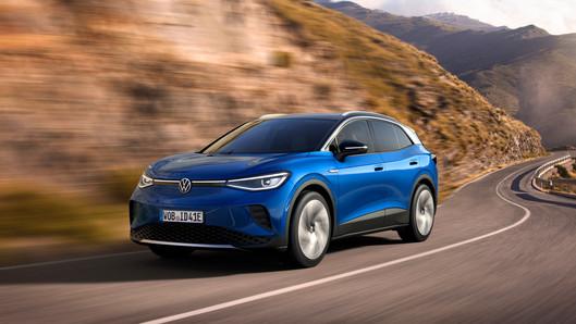ID.4 mới - chiếc SUV dẫn động hoàn toàn bằng điện đầu tiên của Volkswagen mang đến cho thế giới.