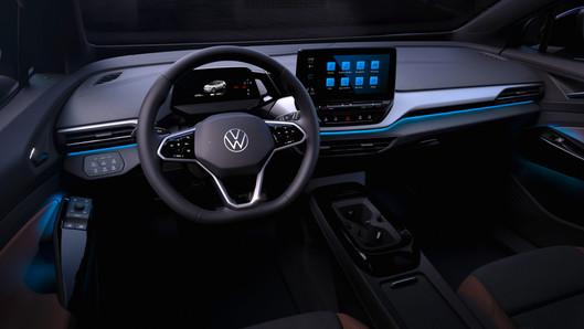 Volkswagen tung ảnh nội thất cực đẹp của SUV chạy điện ID.4