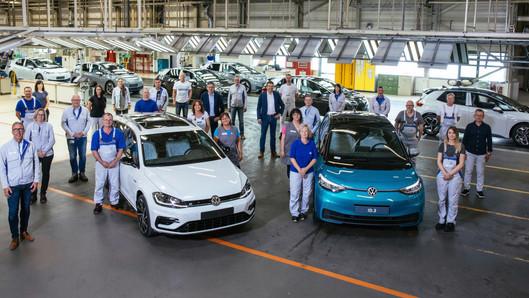 Nhà máy tại Zwickau chuyển đổi sản xuất xe điện trong tương lai.