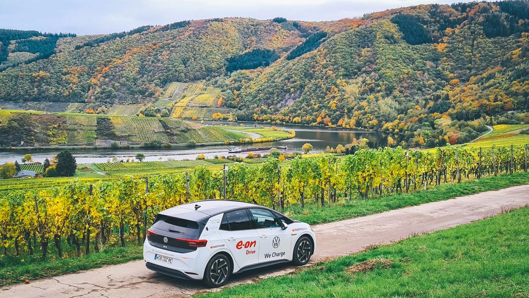 Tour vòng quanh nước Đức hoàn toàn bằng điện với VW ID3 Pro S