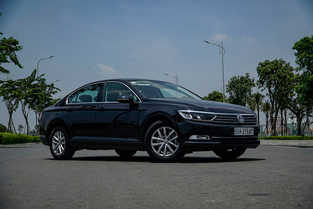 Trải nghiệm xe Volkswagen Passat, chiếc sedan dành cho người đam mê