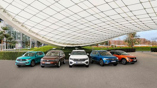 """Hồ sơ """"tính cách"""" của gia đình SUV Volkswagen."""
