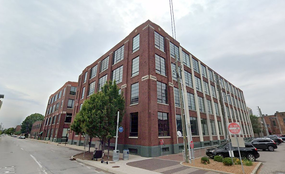 Real Silk Lofts apartments Indianapolis Mass Ave