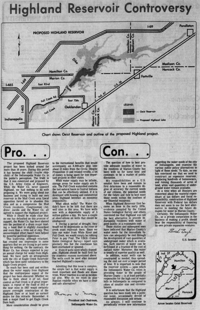Indianapolis Geist history newspaper
