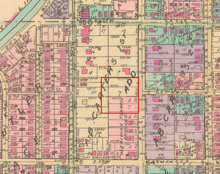Baist map Indianapolis church #indyturns200 indianapolis history