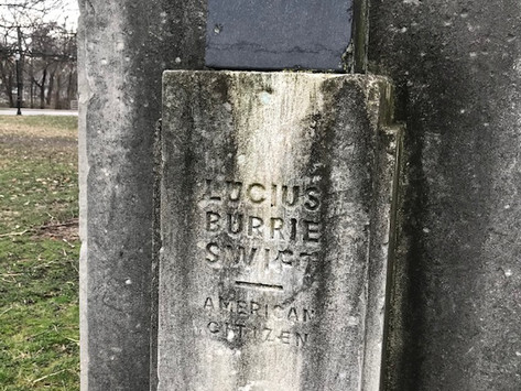 Lucius Burrie Swift: From a Civil Service Reformer to a Monument in Garfield Park