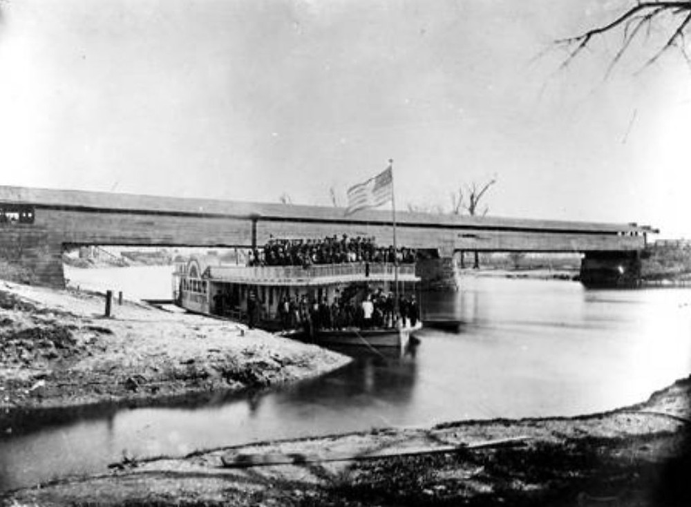 covered bridge governor morton white river #indyturns200