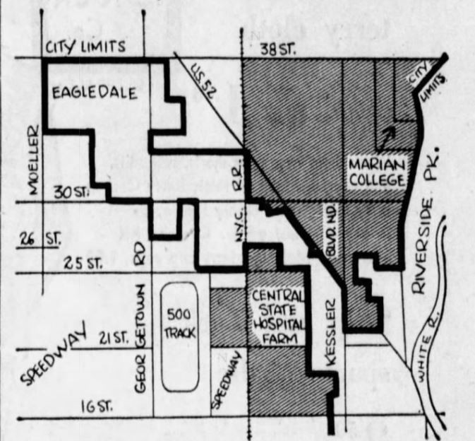 Indianapolis Flackville Annexation