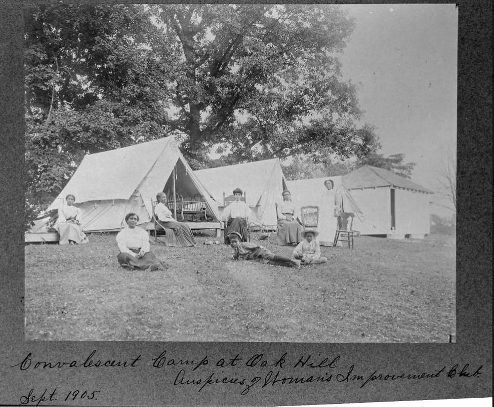 Indianapolis Oak Hill fresh air camp