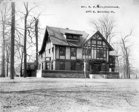 Booth Tarkington home Indianapolis Indiana Historical Society