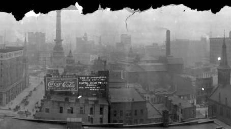 Indianapolis Skyline 1910: A Closer Look