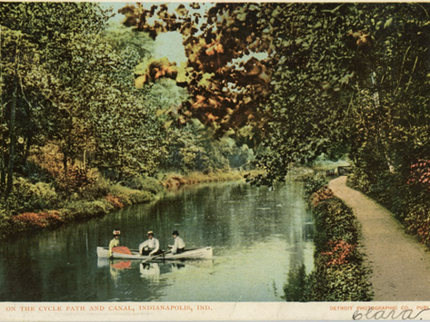 Watercraft on the Canal and the Sinking of the Indiana