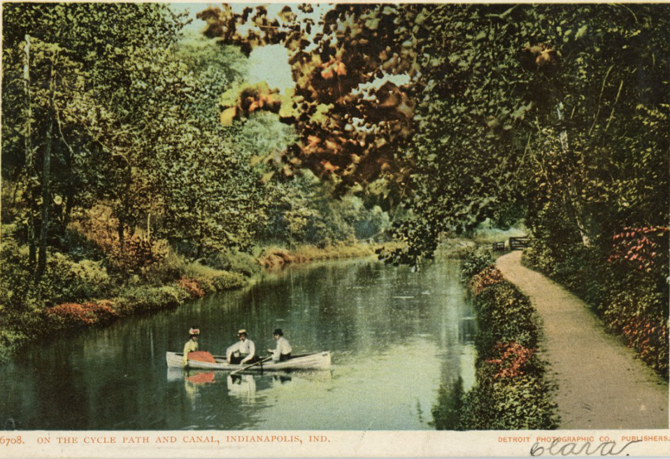 Fairview Park Indianapolis History Central Canal