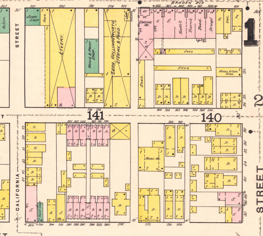 sanborn map Indianapolis history #indyturns200