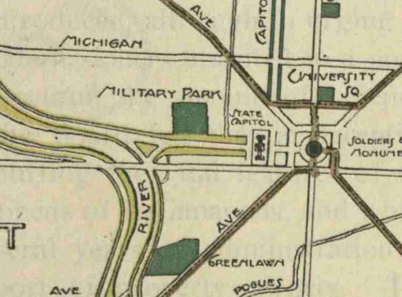 kessler Indianapolis park boulevard plan