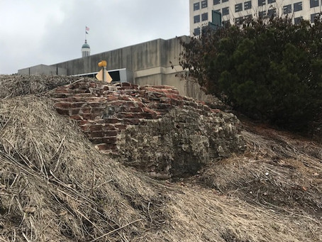 The Memory Remains: The Brick Ruin On The Downtown Canal Walk