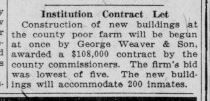 Indianapolis Times poor farm #indyturns200 bicentennial