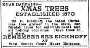 Pioneering the Christmas Tree Farm in Indianapolis