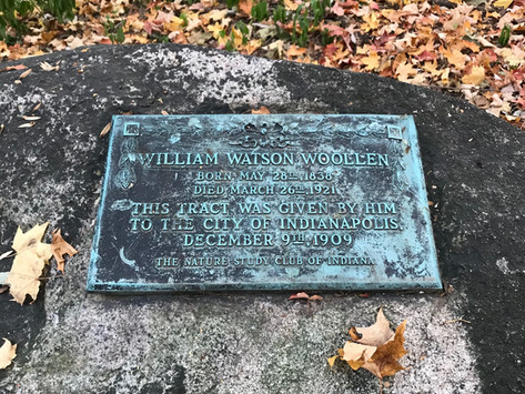 William Watson Woollen and His Garden: Early Environmental Conservation in Indianapolis