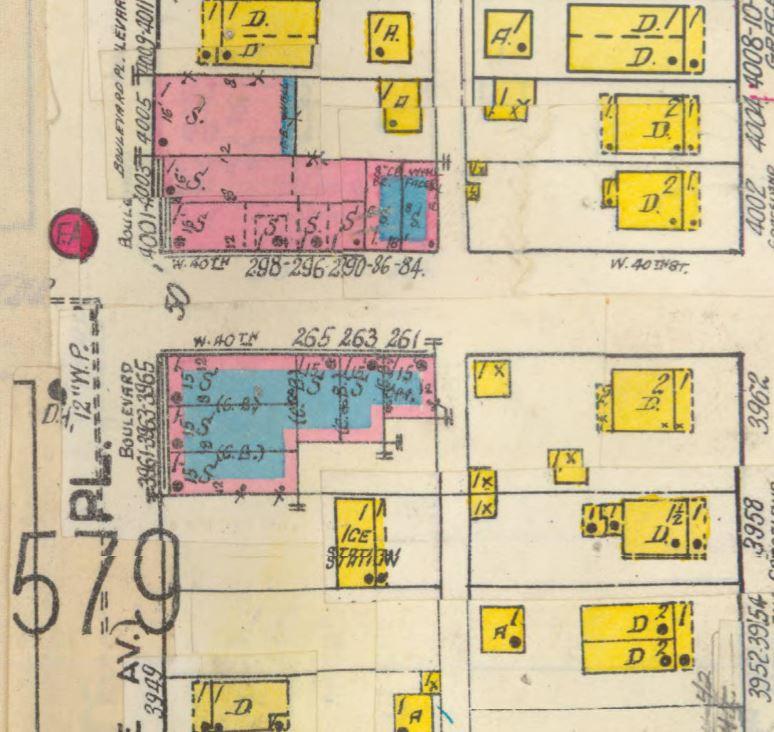 Indianapolis butler tarkington sanborn map