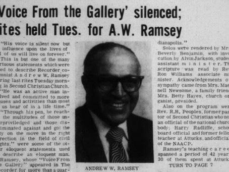 Andrew W. Ramsey: The Name Behind The Park