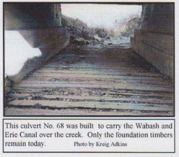 Wabash and Erie Canal culvert