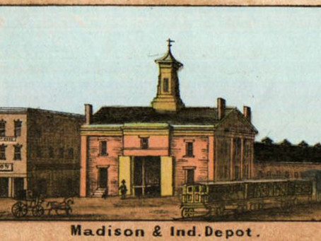 Pioneer Railways of the Circle City: The Madison Indianapolis Railroad