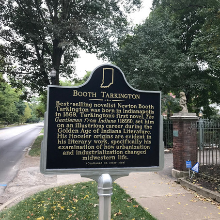 Home of a Literary Legend: The New Historical Marker at the Booth Tarkington House