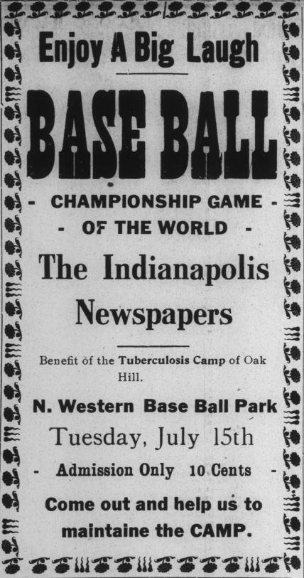 Indianapolis recorder oak hill baseball game