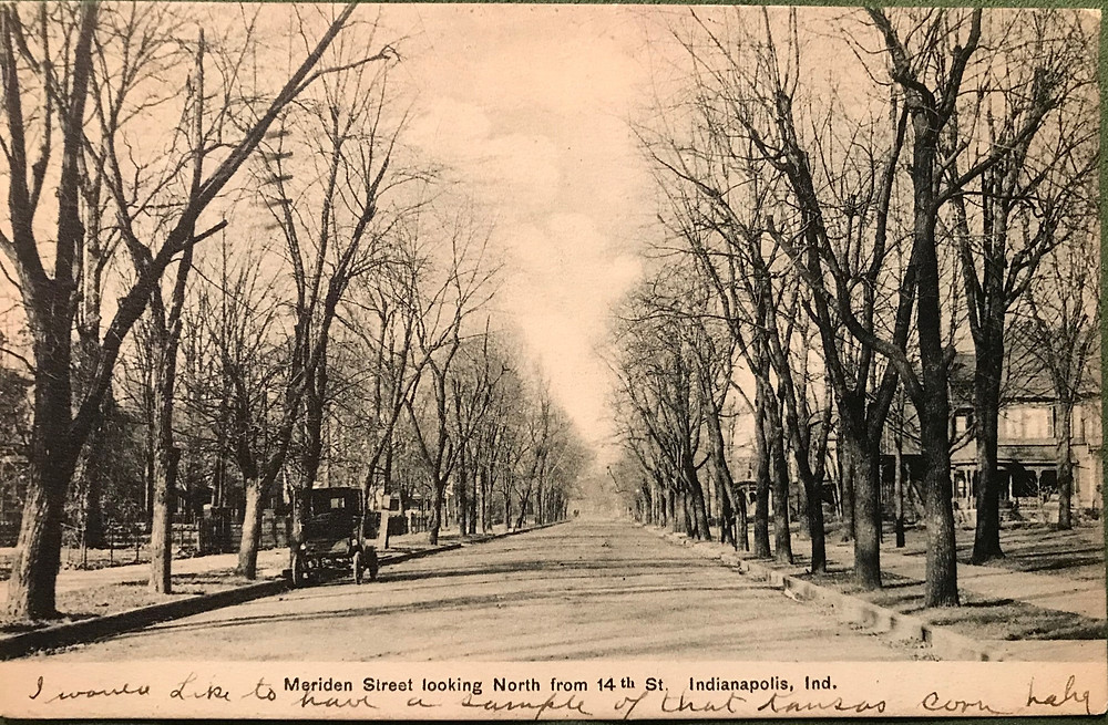 Ebay Find Intersection Of Meridian And 14th Streets In 1908