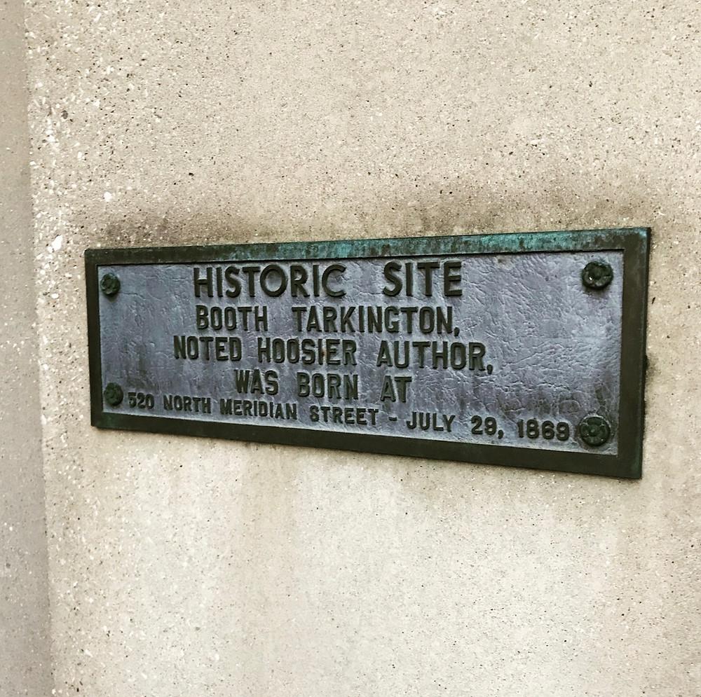 Booth Tarkington Indianapolis history birthplace
