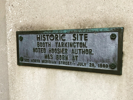 #indyplaques: The Birthplace of a Literary Icon