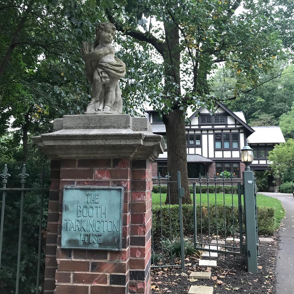 Booth Tarkington plaque Indianapolis house