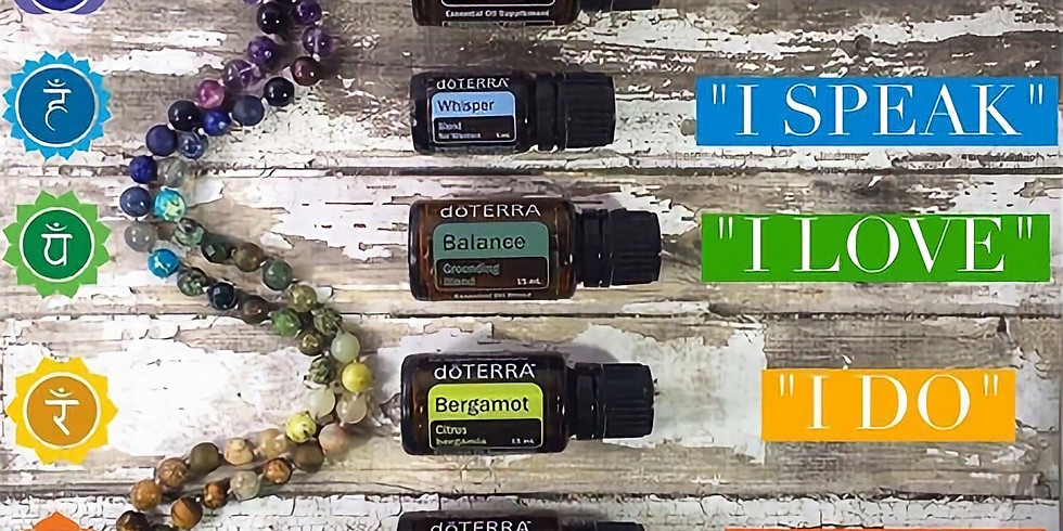 Essential Oils and Chakra Bracelet Crafting Event