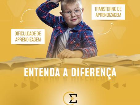 Você sabe a diferença entre Dificuldade de Aprendizagem e Transtorno de Aprendizagem?