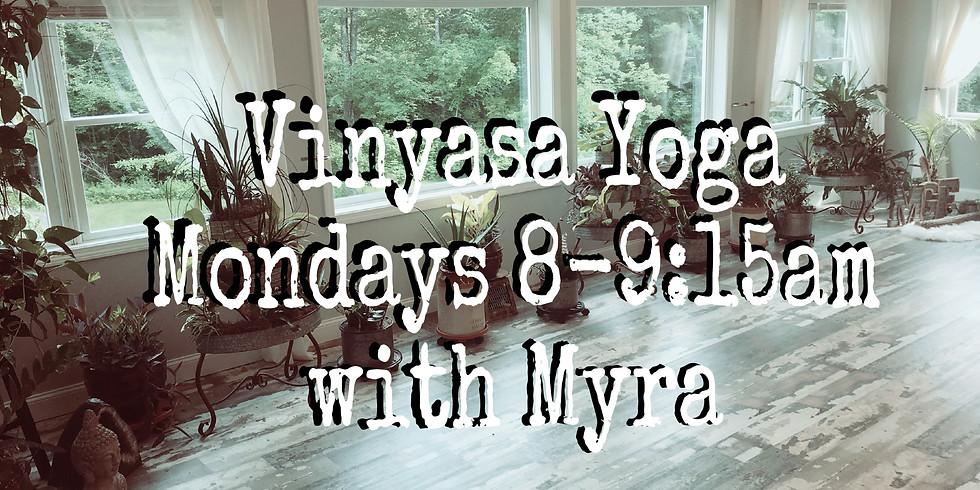 Monday Morning Vinyasa with Myra