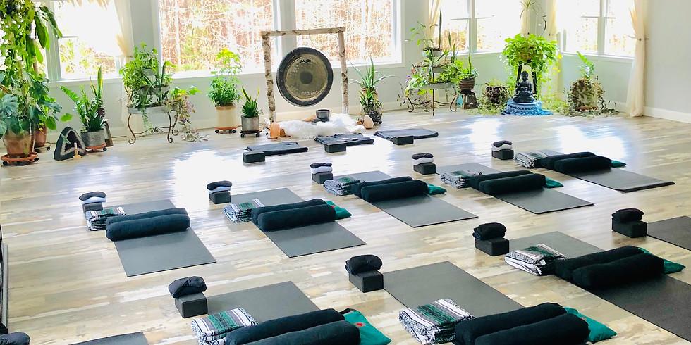 Wednesday Night Restorative Yoga