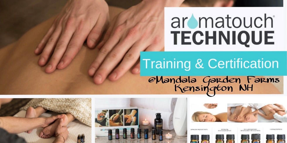 AromaTouch Technique Training and Certification