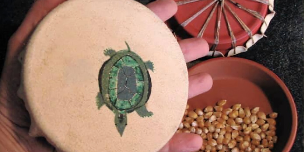 Palm Rattle Workshop. Families and Children Welcome.