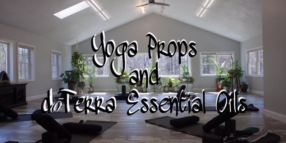 Yoga Props and dōTerra Essential Oils