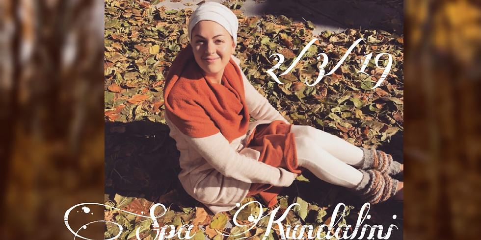 Spa Kundalini Workshop led by Katie