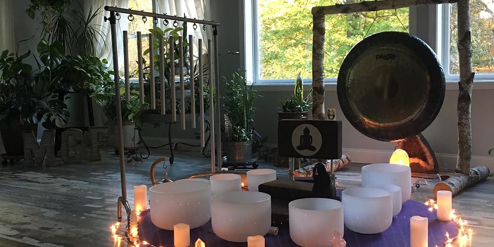 Sound Healing Journey Work with Ben Carroll