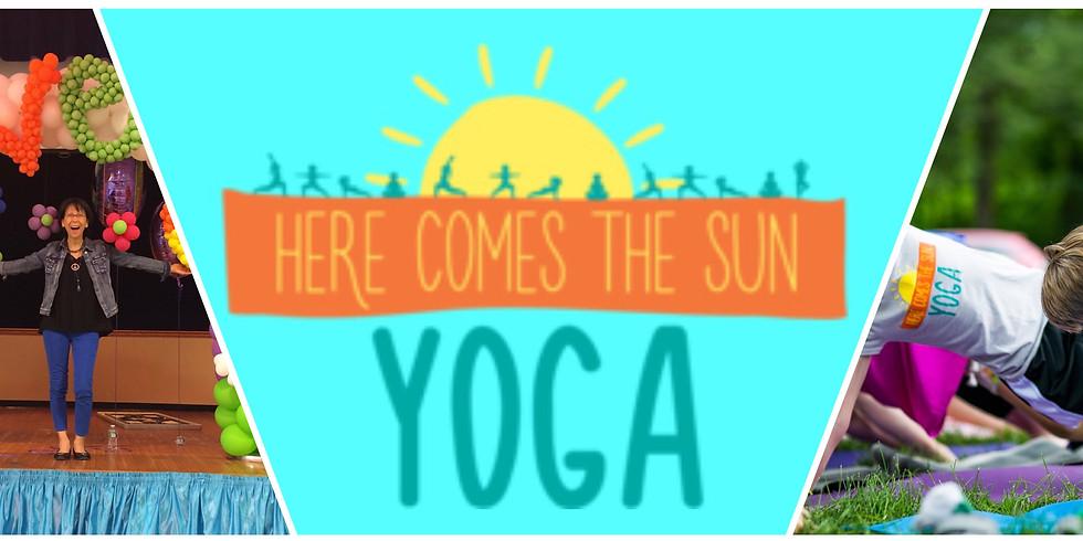 Here Comes The Sun Kids Yoga Training