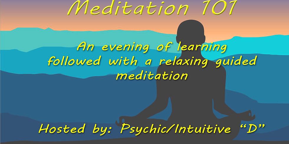 Meditation 101 led by Danger