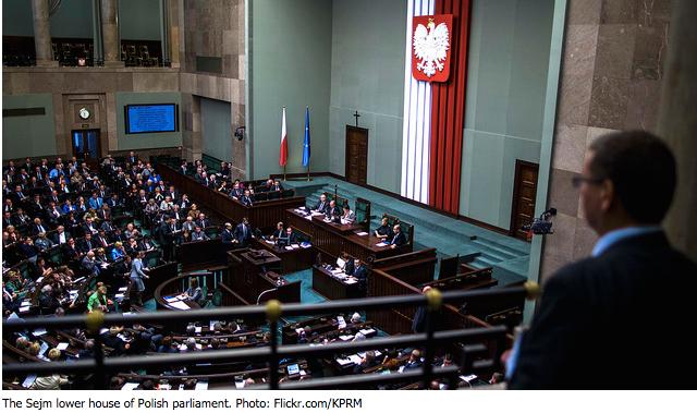Sejm pass controversial legislation on Constitutional Tribunal