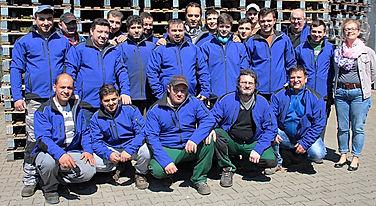 Palettenreparatur und Handel Cret - Team