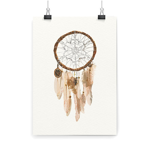 Dreamcatcher Wall Art Print