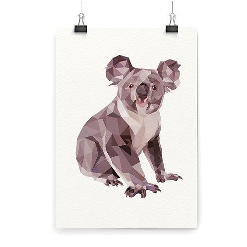 Koala Wall Art Print